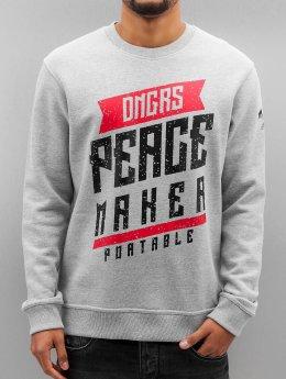 Dangerous DNGRS Pullover Peacemaker grau