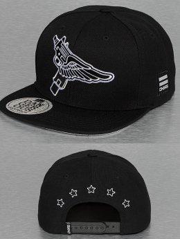 Dangerous DNGRS Snapback Caps Flying Uzi czarny