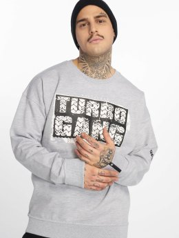Dangerous DNGRS Svetry Turbogrunch Crewneck šedá