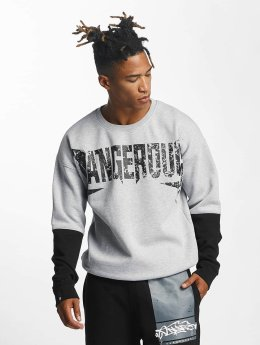 Dangerous DNGRS Sweat & Pull Methal gris
