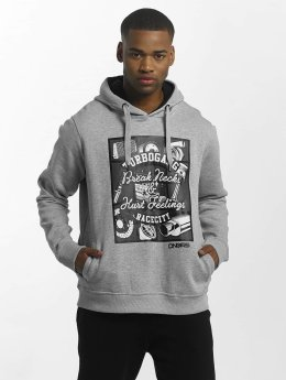 Dangerous DNGRS Sweat capuche Race City Carparts gris