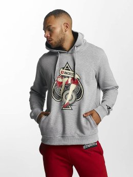 Dangerous DNGRS Sweat capuche Race City Pikwire gris
