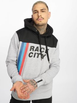 Dangerous DNGRS Sweat capuche Race City MRC gris