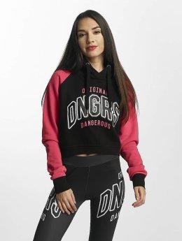 Dangerous DNGRS Sweat capuche OriginalID magenta