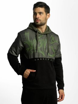 Dangerous DNGRS Sweat capuche Rocco Fat Cap Tag noir