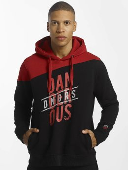 Dangerous DNGRS Sweat capuche Dangerscript rouge
