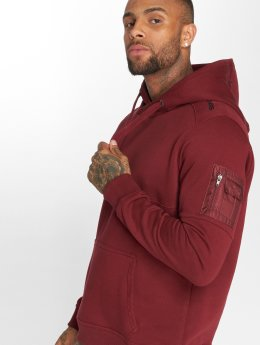 Dangerous DNGRS Sweat capuche Mokoo rouge
