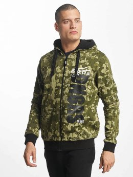 Dangerous DNGRS Sweat capuche zippé Unexpected camouflage