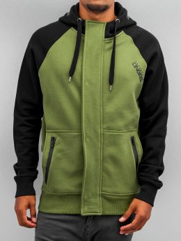 Dangerous DNGRS Sweat capuche zippé Halil olive
