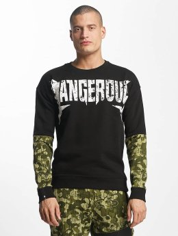 Dangerous DNGRS Swetry Methal  czarny