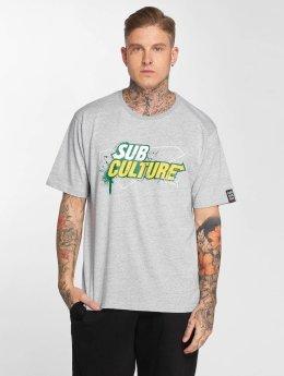Dangerous DNGRS Subculture T-Shirt Grey Melange