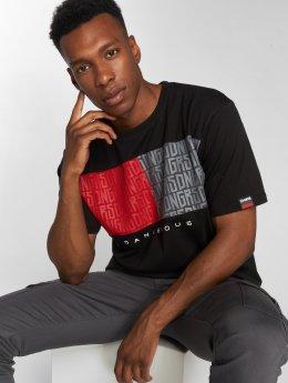 Dangerous DNGRS Twoblck T-shirt Black
