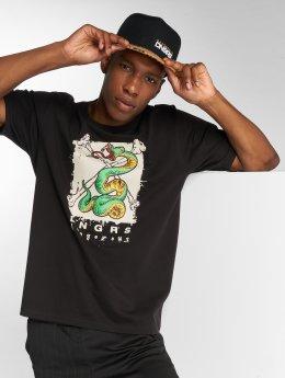 Dangerous DNGRS Snake T-Shirt Black