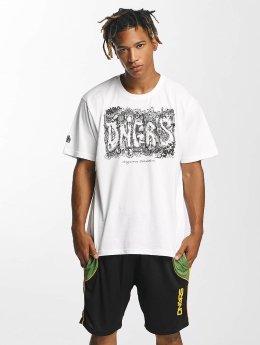 Dangerous DNGRS T-paidat Cooper Street Art valkoinen