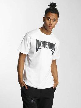 Dangerous DNGRS T-paidat Methal valkoinen
