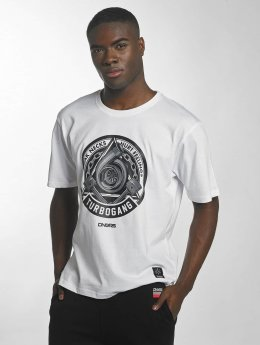 Dangerous DNGRS Race City IIlluminati T-Shirt White