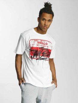 Dangerous DNGRS T-shirt Hello bianco