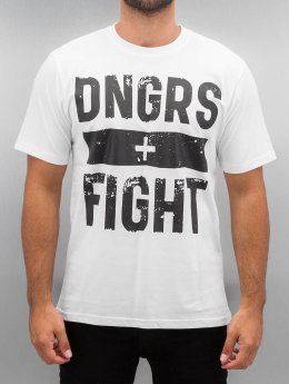 Dangerous DNGRS T-Shirt Fight blanc