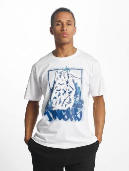 Dangerous DNGRS T-Shirt Akte One Style blanc