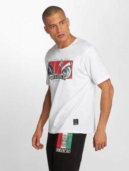 Dangerous DNGRS T-Shirt Race City IBWT blanc