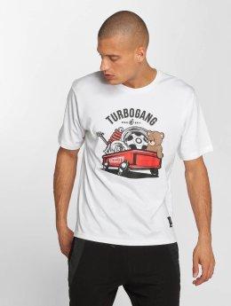 Dangerous DNGRS T-Shirt DNGRS Wagon blanc