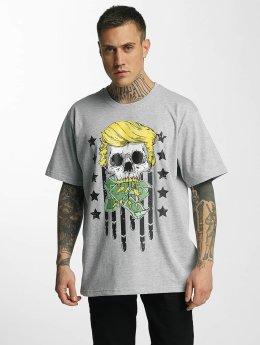 Dangerous DNGRS T-Shirt Don Bomb grau