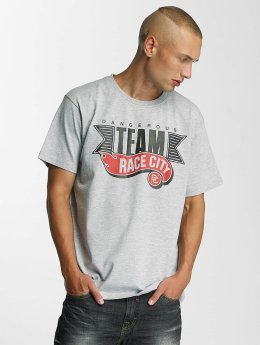 Dangerous DNGRS Race T-Shirt Grey