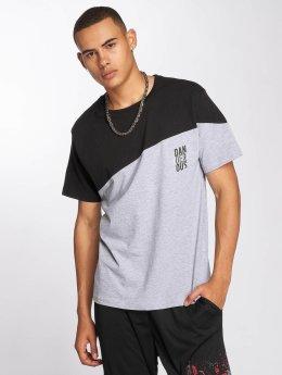Dangerous DNGRS t-shirt Dangerscript grijs