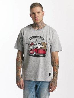 Dangerous DNGRS t-shirt Wagon grijs