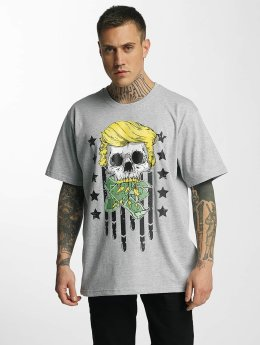Dangerous DNGRS T-Shirt Don Bomb gris