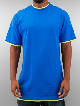 Dangerous DNGRS T-shirt longoversize Two Tone bleu