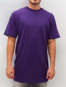 Dangerous DNGRS T-shirt longoversize Blank pourpre