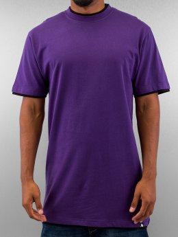 Dangerous DNGRS T-shirt longoversize Two Tone pourpre