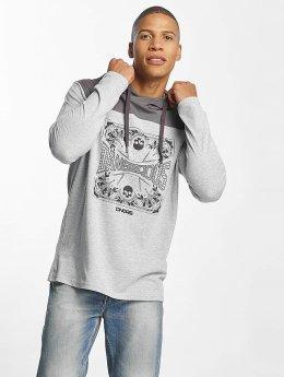 Dangerous DNGRS T-Shirt manches longues Dangana gris