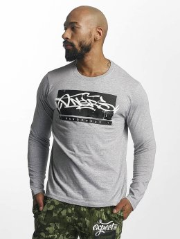 Dangerous DNGRS T-Shirt manches longues Topping gris