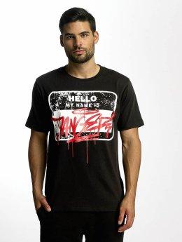 Dangerous DNGRS T-Shirt Hello schwarz