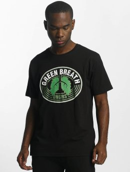 Dangerous DNGRS T-Shirt Green Breath schwarz
