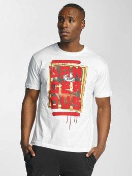 Dangerous DNGRS Männer T-Shirt Evil Inside in weiß