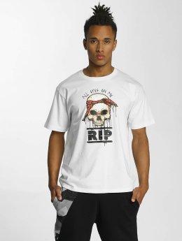 Dangerous DNGRS T-Shirt Tuskull weiß