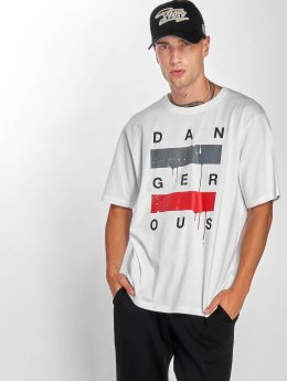 Dangerous DNGRS T-Shirt Uncaged weiß