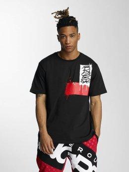 Dangerous DNGRS t-shirt Akte One Scratch Tag zwart