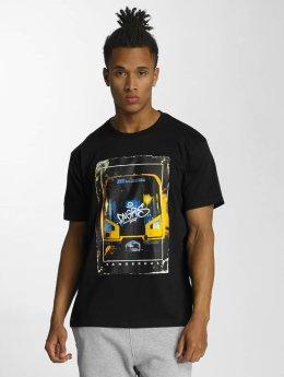 Dangerous DNGRS t-shirt Rocco Subway Front Tag zwart