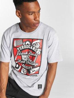 Dangerous DNGRS T-shirts Race City Carparts grå