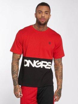 Dangerous DNGRS T-Shirty Big Logo czerwony