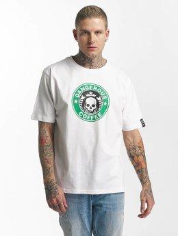 Dangerous DNGRS T-skjorter Coffee hvit