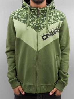 Dangerous DNGRS Zip Hoodie Egzon Race City camouflage
