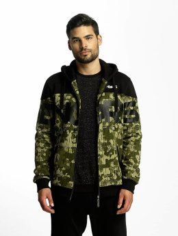 Dangerous DNGRS Zip Hoodie Two Tone camouflage