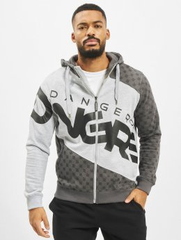 Dangerous DNGRS Zip Hoodie Veli gray