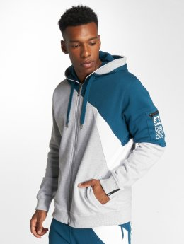 Dangerous DNGRS Zip Hoodie Threesome grey