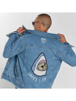 Dangerous I AM Denim Jacket Kasha blue